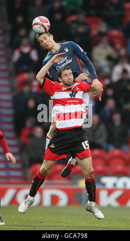 Soccer - Coca-Cola Football League Championship - Doncaster Rovers v Nottingham Forest - Keepmoat Stadium - Stock Photo