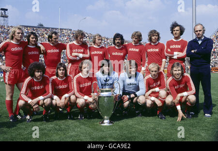 sports, soccer / football, European Champion Club's Cup, FC Bayern Muenchen, group picture, 1974, Additional-Rights - Stock Photo