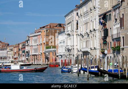 Venice, Italy, Grand Canal, - Stock Photo