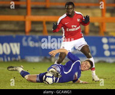 Soccer - FA Youth Cup - Fourth Round - Arsenal v Ipswich Town - Underhill Stadium - Stock Photo