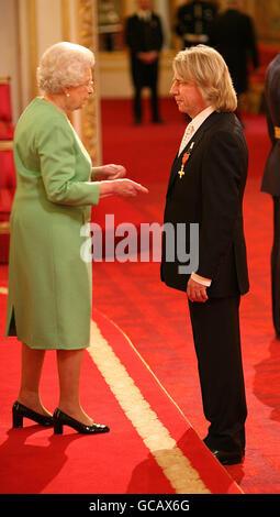 Investiture at Buckingham Palace - Stock Photo