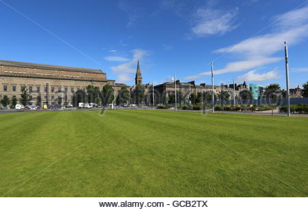 Slessor Gardens part of a redevelopment project of Dundee\'s Stock ...