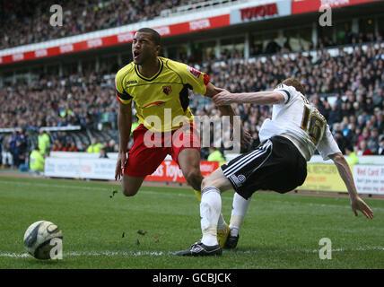 Soccer - Coca-Cola Football League Championship - Derby County v Watford - Pride Park - Stock Photo