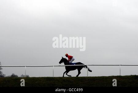 Horse Racing - Chepstow Racecourse - Stock Photo