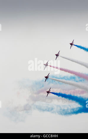 RAF Fairford, Gloucestershire, UK. 8th July 2016.  At the first day of the Royal International Air Tattoo the Royal - Stock Photo