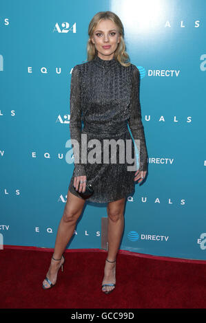 Hollywood, CA, USA. 7th July, 2016. 07 July 2016 - Hollywood, California - Bar Paly. ''Equals'' Los Angeles Premiere - Stock Photo