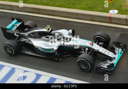 Silverstone , Northants, UK. 8th July, 2016. 08.07.2016 British F1 Grand Prix Silverstone UK Open practice day Nico - Stock Photo