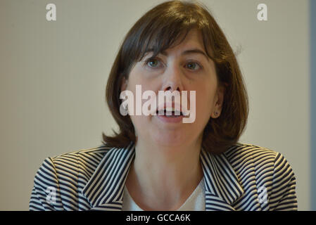 Salford, UK. 8th July, 2016. Lucy Powell MP, Member of Parliament for Manchester Central, speaking at the 'Finding - Stock Photo