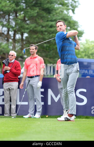Celtic Manor, Newport, Wales - Saturday 9th July 2016 - The Celebrity Cup golf competition former Olympic swimmer - Stock Photo