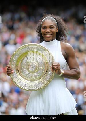 Wimbledon, London, UK. 9th July, 2016. AELTC Tennis Championships at Wimbledon London, UK. 09th July, 2016. Ladies - Stock Photo