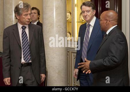 SA President Zuma State Visit to UK - Stock Photo