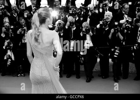 CANNES, FRANCE - MAY 14: Blake Lively attends 'The BFG ' premiere during the 69th Cannes Film Festival