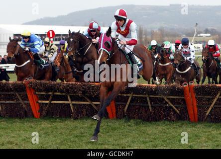 Horse Racing - 2010 Cheltenham Festival - Day Three - Stock Photo