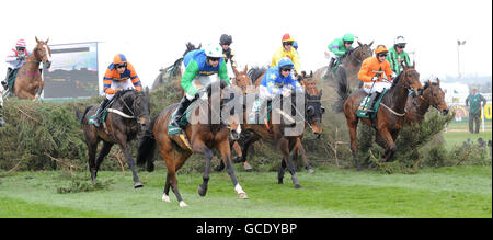 Horse Racing - 2010 John Smith's Grand National - Day Three - Aintree Racecourse - Stock Photo
