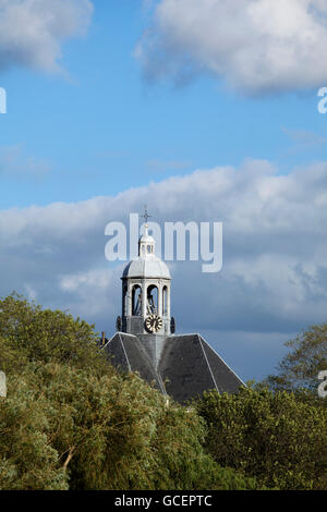 Oosterkerk church, Dutch for 'eastern church', today used as an exhibition space, Amsterdam, Holland region, Netherlands, - Stock Photo