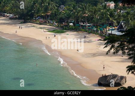 Nang Thong beach, Khao Lak, Thailand, Asia - Stock Photo