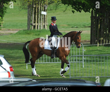 Equestrian - Mitsubishi Motors Badminton Horse Trials 2010 - Day One - Gloucestershire Park - Stock Photo
