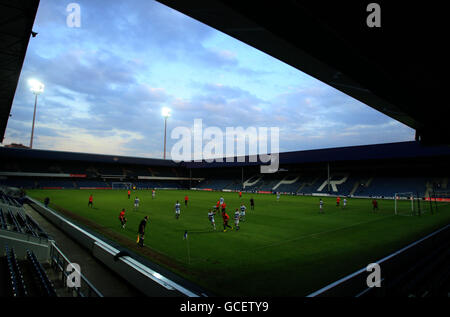 Soccer - Football League Youth Alliance Cup - Final  - Queens Park Rangers v Stockport - Loftus Road - Stock Photo