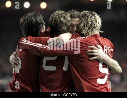 Soccer - UEFA Europa League - Quarter Final - Second Leg - Liverpool v Benfica - Anfield - Stock Photo