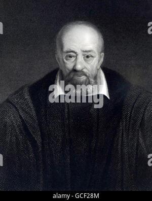 GEORGE BUCHANAN (1506-1582) Scottish historian and scholar - Stock Photo