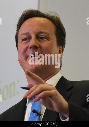 Launch of Coalition Agreement - Stock Photo