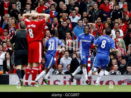 Soccer - Barclays Premier League - Liverpool v Chelsea - Anfield - Stock Photo