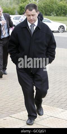 John Tomlinson court hearing - Stock Photo