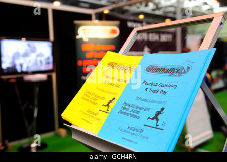 Soccer - Grass Roots Football Live - NEC - Stock Photo