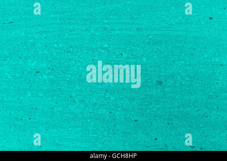 Excellent turquoise grayish grayscale stone wall backgrounds: close up of a marble natural virgin stone cut plate - Stock Photo