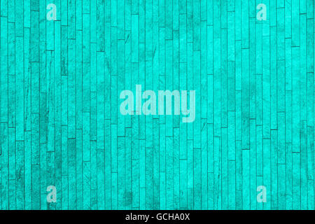 Perfect turquoise grayish gray scale high resolution natural urban brick wall background - Stock Photo