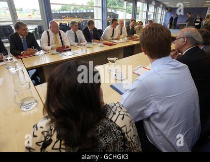 Regional Cabinet meeting - Stock Photo