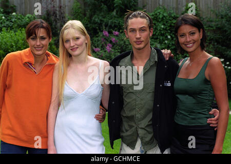 Television - The Big Breakfast 'Find me a Model' Photocall - London - Stock Photo