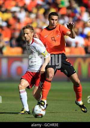 Soccer - 2010 FIFA World Cup South Africa - Group E - Netherlands v Denmark - Soccer City Stadium - Stock Photo