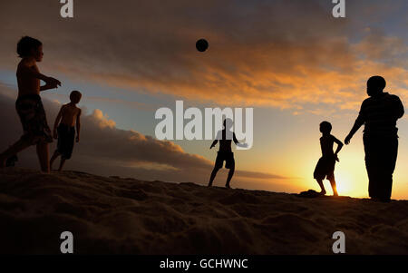 Soccer - 2010 FIFA World Cup South Africa - Camps Bay - Stock Photo