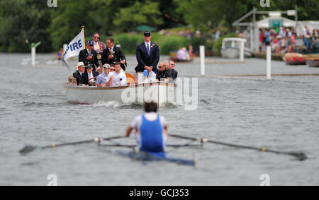 Rowing - Henley Royal Regatta - Day Two - Henley-on-Thames - Stock Photo