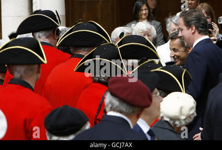 Sarkozy visits London - Stock Photo