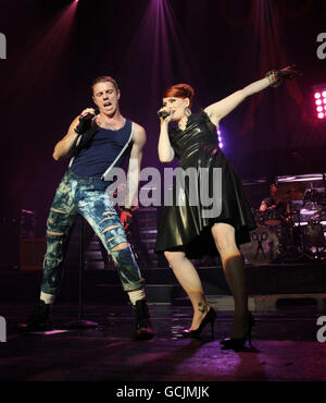 Scissor Sisters concert - London - Stock Photo