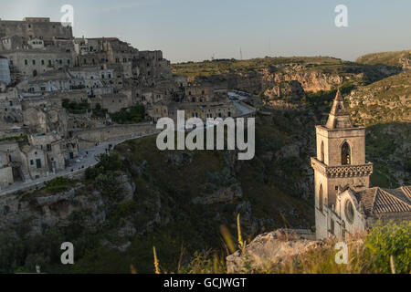 The Rocks, Matera, Basilicata, Italy, Europe - Stock Photo