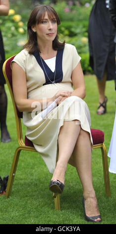 Samantha Cameron hosts her first Downing Street reception - Stock Photo