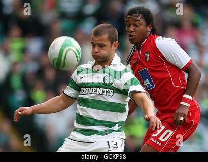 Soccer - UEFA Champions League - Third Qualifying Round - Second Leg - Celtic v FC Braga - Celtic Park - Stock Photo