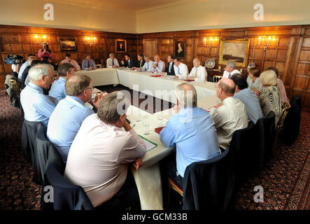 Cabinet meeting at Chequers - Stock Photo