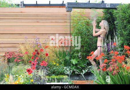 RHS Flower Show - Tatton Park - Stock Photo