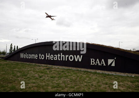 BAA airports - Stock Photo