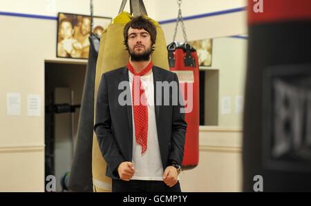 Liam Fray Gig - Salford Stock Photo