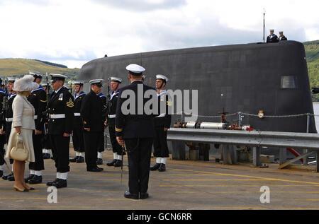 Submarine Astute commissioned - Stock Photo