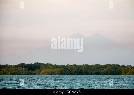 Photograph taken from a boat on the Cordoncillo River - Stock Photo