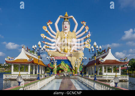 Wat Plai Laem temple Koh Samui, Thailand, Asia - Stock Photo
