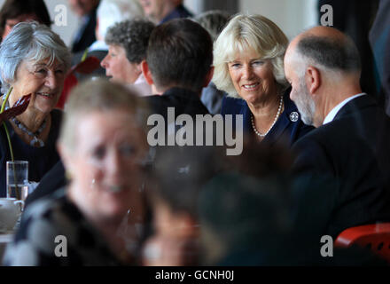 Duchess of Cornwall in Sussex - Stock Photo