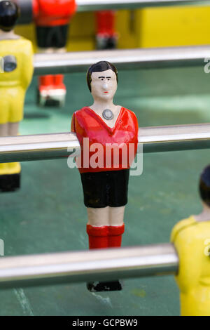 Table football player - Stock Photo