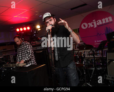 Oxjam launch - London - Stock Photo